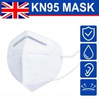 20pcs/set KN95 Reusable Anti Air Pollution Face Mask