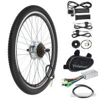 "Voilamart 36V 250W 26"" Rear Wheel Electric Bicycle Motor Conversion Kit E Bike Cycling Hub"