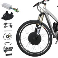 "Voilamart 48V 1000W 26"" Front Wheel Electric Bicycle Kit Motor Conversion Kit Bike Cycling Hub"